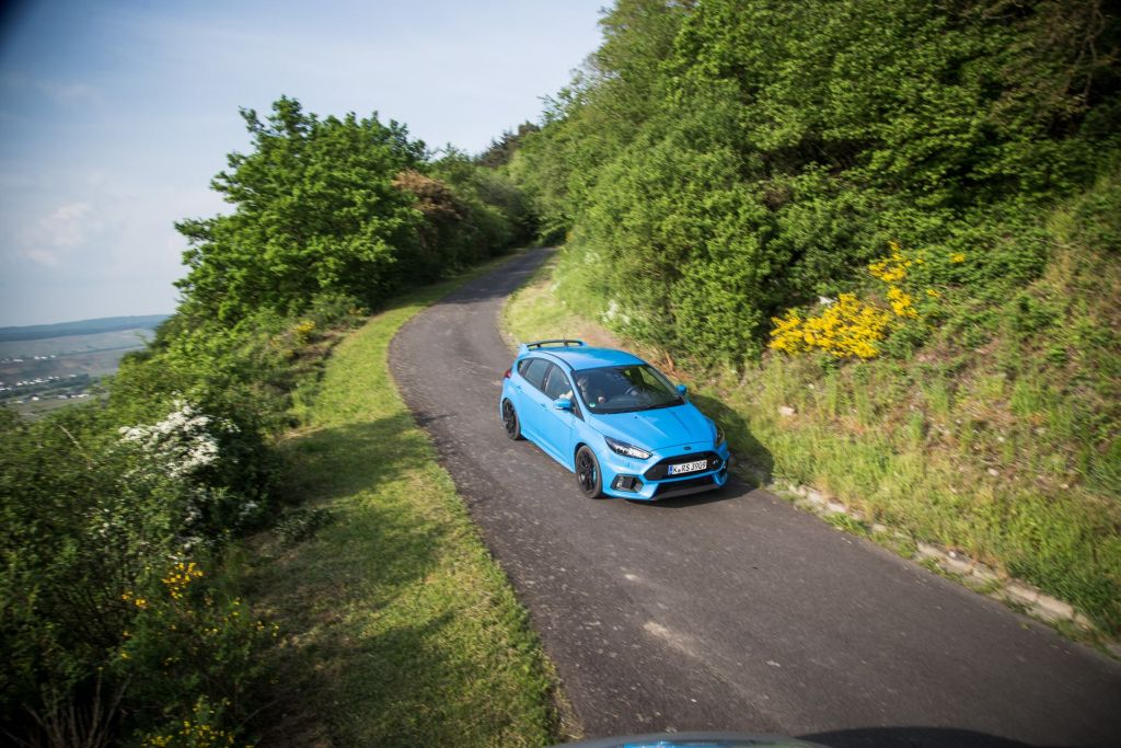 2016 Focus RS on German WRC roads