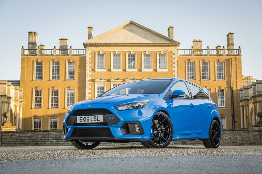 2016 Ford Focus RS - Autocar Award for best Performance