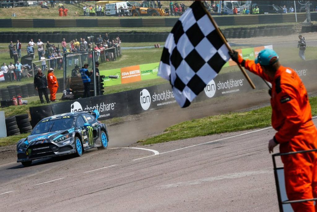 Hoonigan Racing Devision in FIA WRX Lydden Hill | Bakkerud - laptime 40.989 new track record