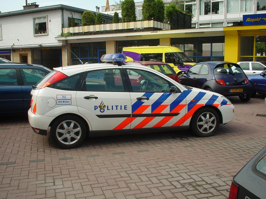 1998 Ford Focus Hatchback - Dutch Police