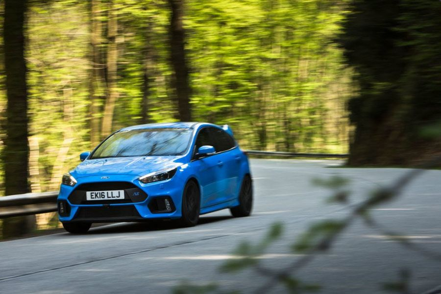 2016 Focus RS at Spa-Francorchamps