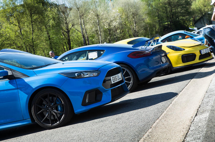 2016 Focus RS & Ford GT at Spa-Francorchamps