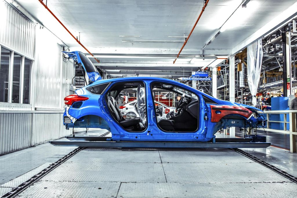 2016 Focus RS build by Top Gear