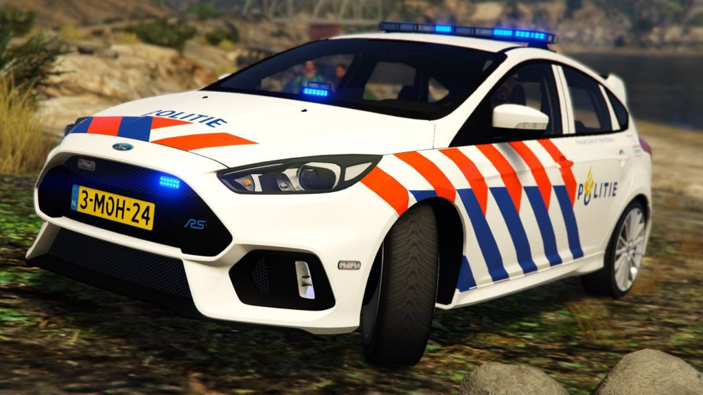 2016 Ford Focus RS Dutch Police (GTA5)-04