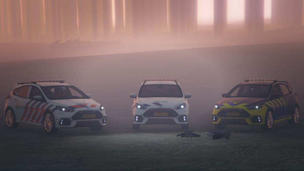 2016 Ford Focus RS Dutch Police (GTA5)