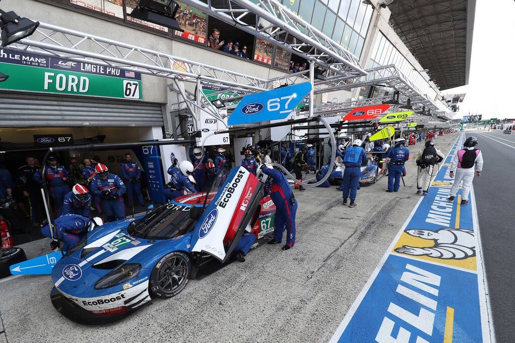 2016 Winners Le Man GTE Pro - Ford GT 68