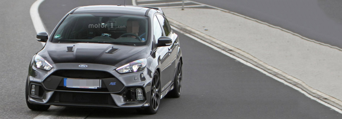 2017 Ford Focus RS500 spotted on the Nürburgring, nu met video!