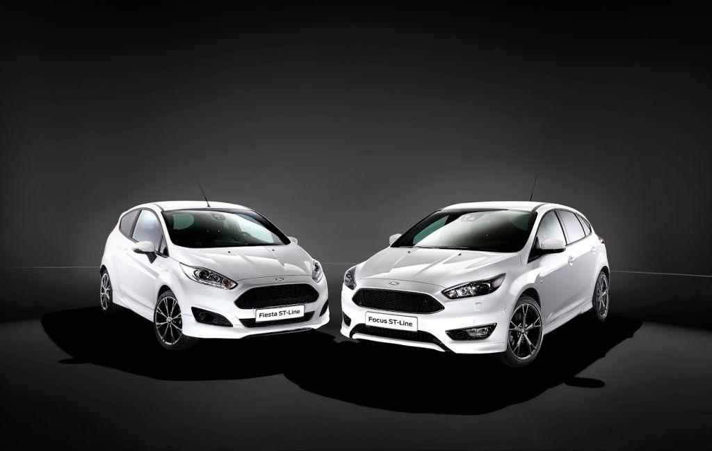 Ford ST-Line 2016 Focus & Fiesta