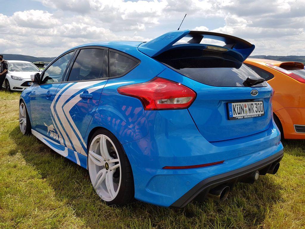 2016 Focus RS-ST forum treffen Nurburgring