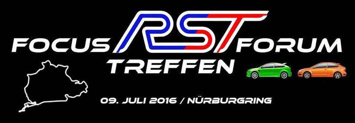 2016 Focus RS-ST forum treffen Nurburgring, nu met video!