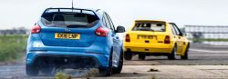 2016 Focus RS vs 1992 Lancia Delta HF Integrale Evo 1-03s