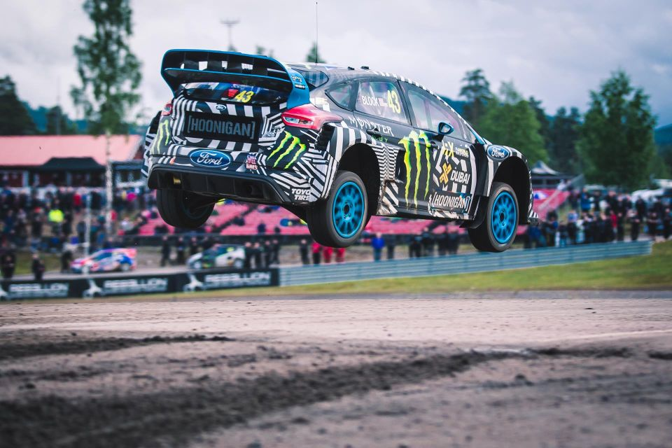 Bakkerud wins Sweden WRX in his Ford Focus RS RX
