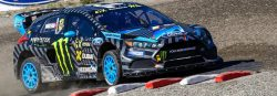 Bakkerud wins Sweden WRX in his Ford Focus RS RX-03s