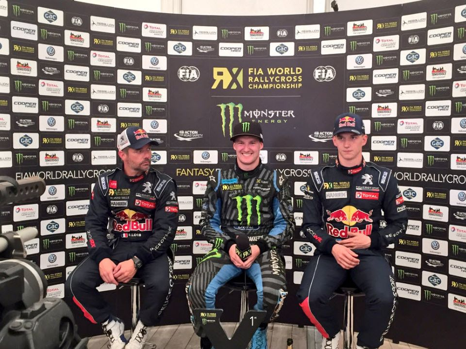 Bakkerud wins Sweden WRX in his Ford Focus RS RX-07