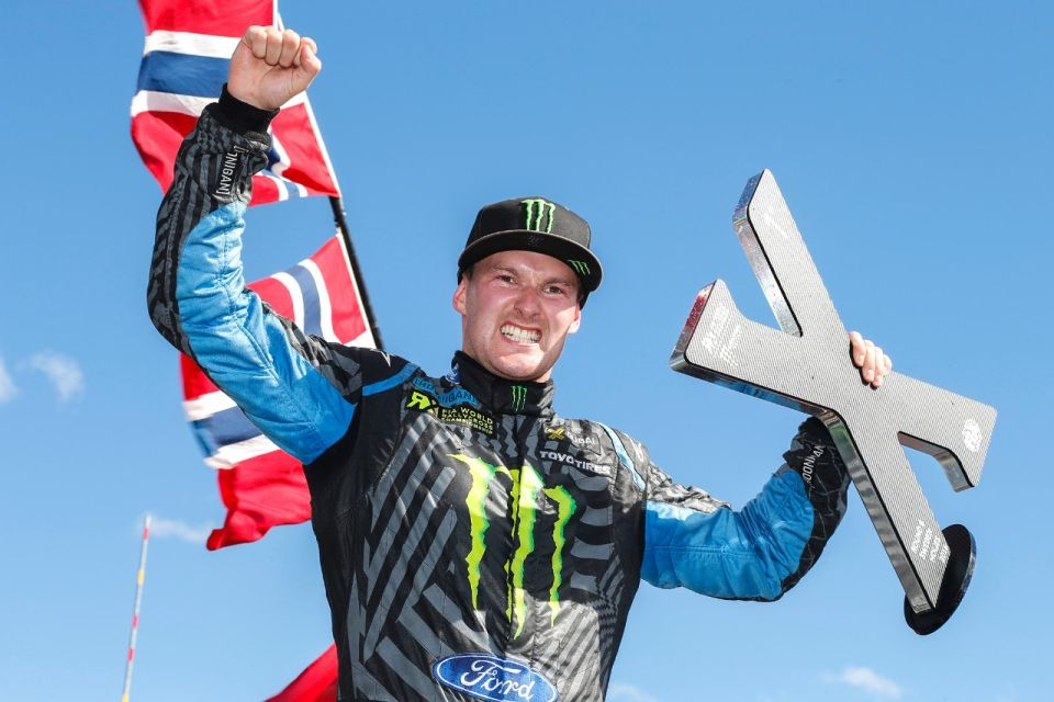 Bakkerud wins Sweden WRX in his Ford Focus RS RX