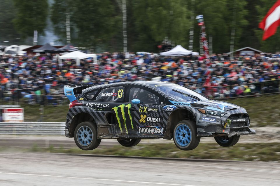In only its sixth race, the Ford Focus RS RX has established itself as a championship contender as Hoonigan Racing Division driver Andreas Bakkerud earned his second consecutive FIA World Rallycross win on Sunday in Holjes, Sweden.