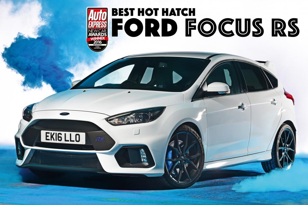 AutoExpress - Best Hot Hatch of the Year - 2016 Ford Focus RS