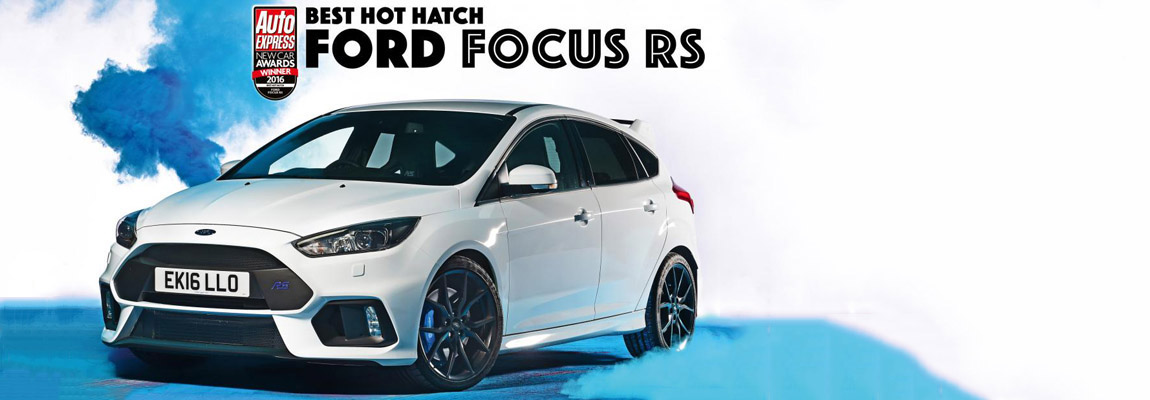 Best Hot Hatch of the Year 2016 – the Ford Focus RS