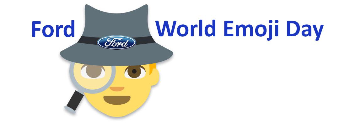 Ford 'World Emoji Day'