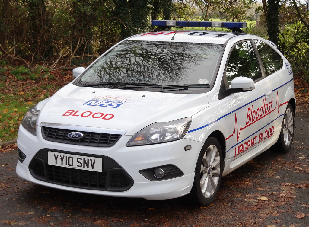 NHS Blood Service 2008 Ford Focus ST