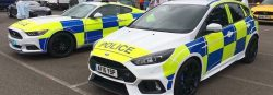 UK Police 2016 Focus RS and Mustang-2s
