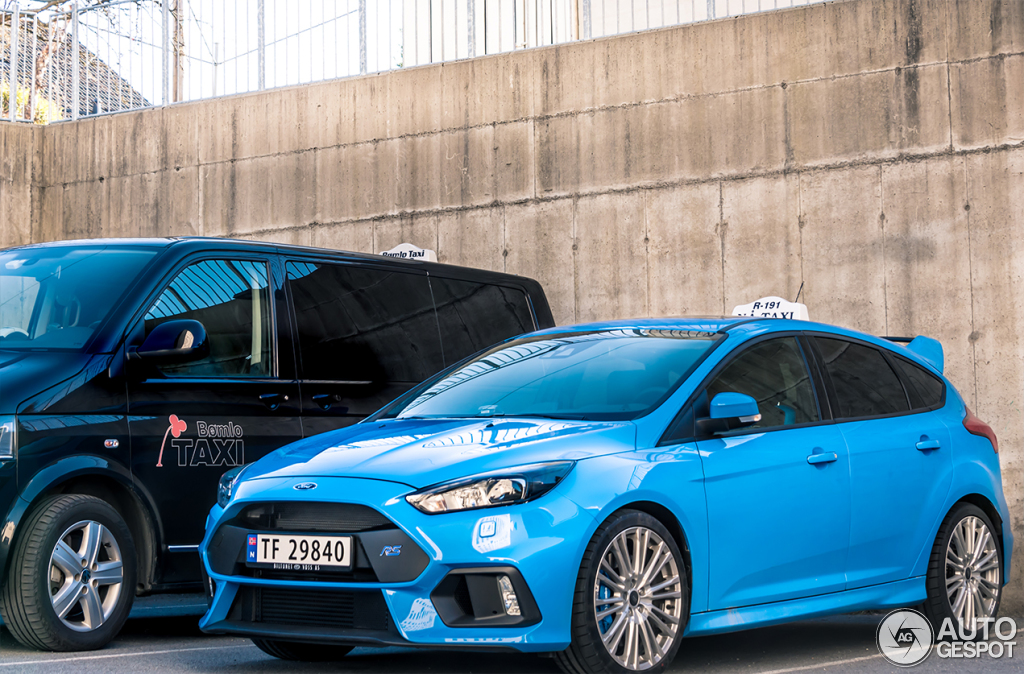 2016 Ford Focus RS Taxi Norway