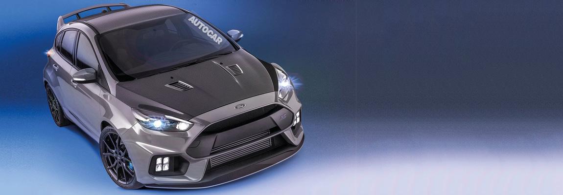2017 Ford Focus RS500 Mk2 onderweg?