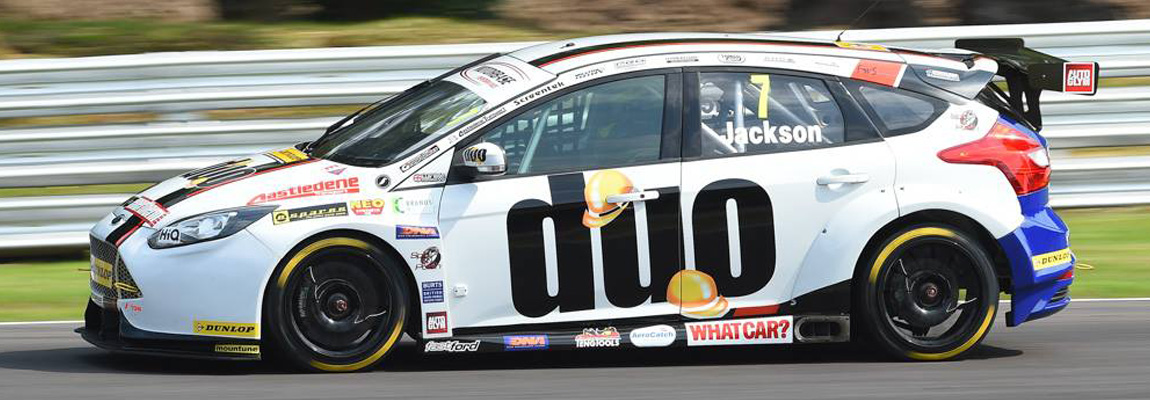 Motorbase Performance in de Dunlop MSA BTCC Knockhill