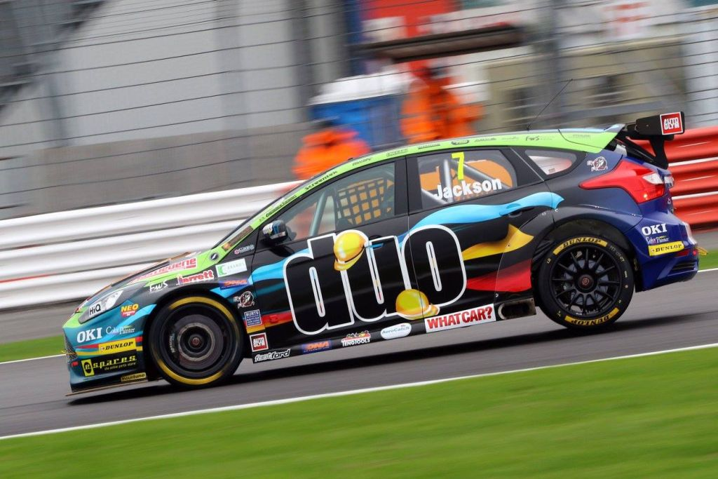 2016 BTCC Motorbase Performance Team at Silverstone