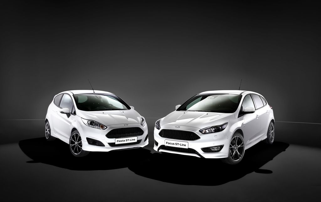2016 Ford Focus ST-line prices (Dutch)