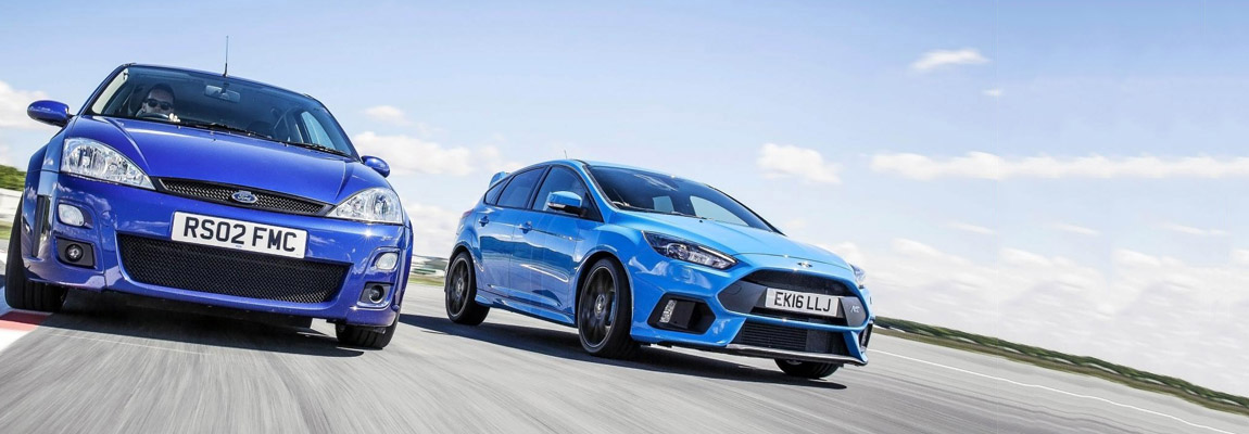 Ford Focus RS MkI vs Ford Focus RS MkIII