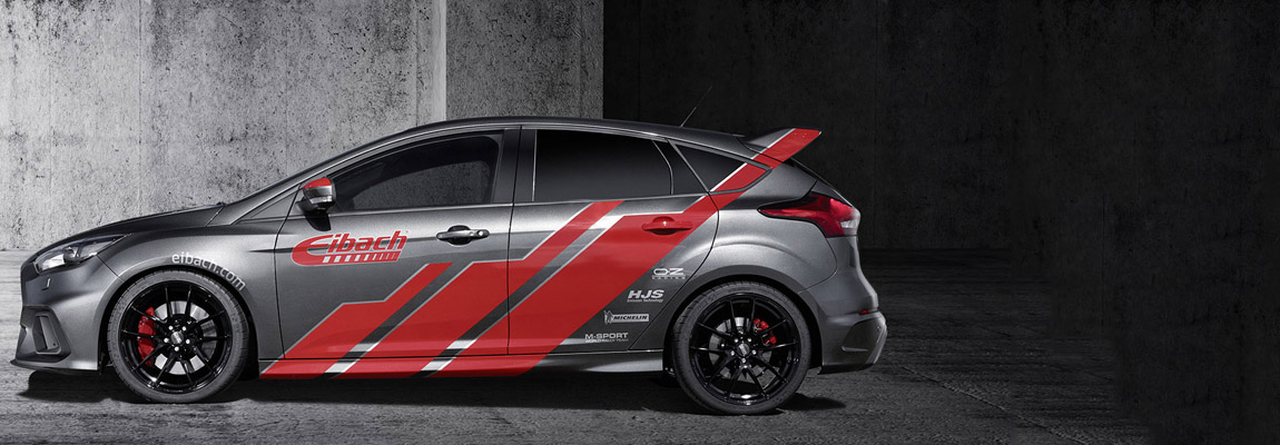 Eibach Springs perfectioneert wegligging 2016 Focus RS