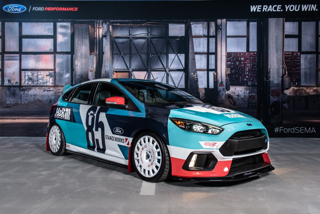 Nose-to-Tail Racing Energy by HR Springs Focus RS
