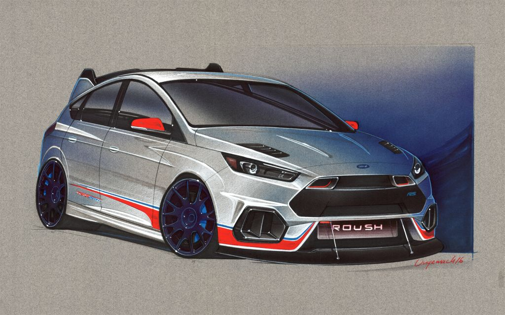 Roush 2016 Ford Focus RS