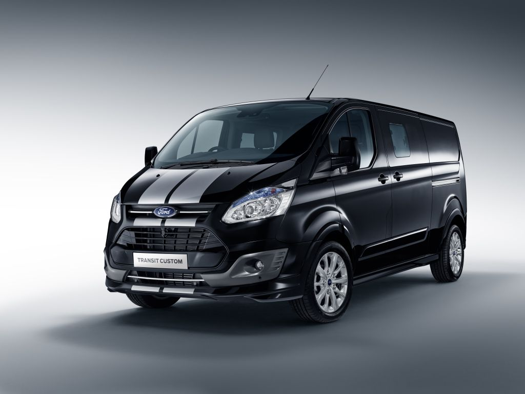 2016 Ford Transit Custom Black