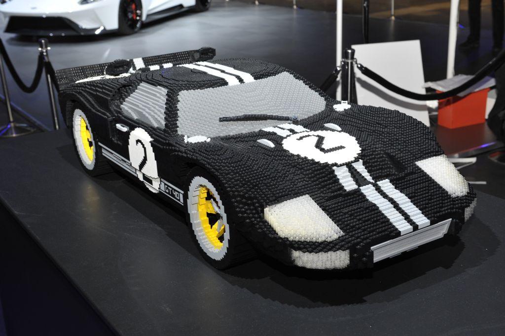 1966 Ford GT - Lego
