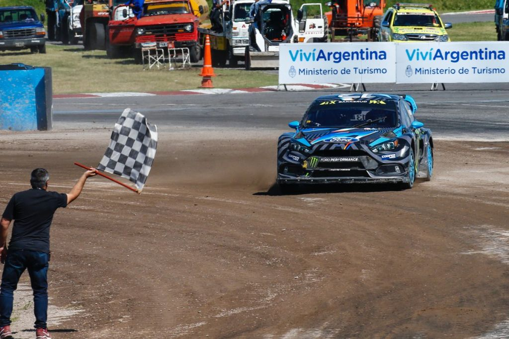 Hoonigan's Racing Division wins 2016 WRX Argentina