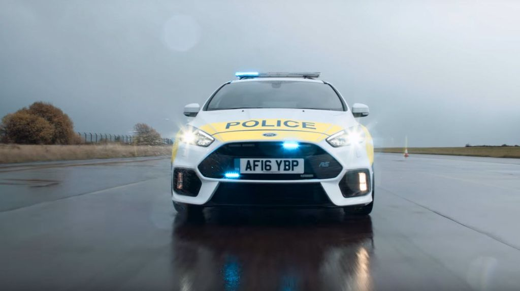 2016 Focus RS Police