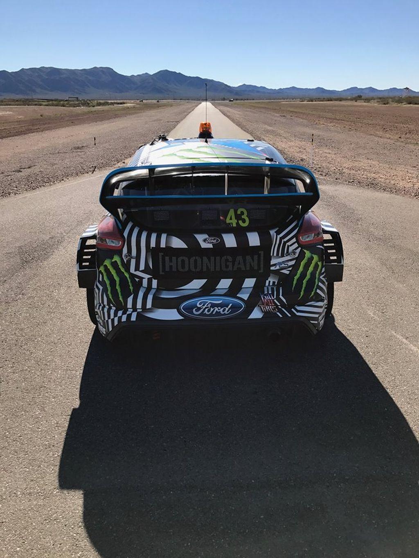Ken Block Test 2017 Ford Focus Rs Wrx In Arizona