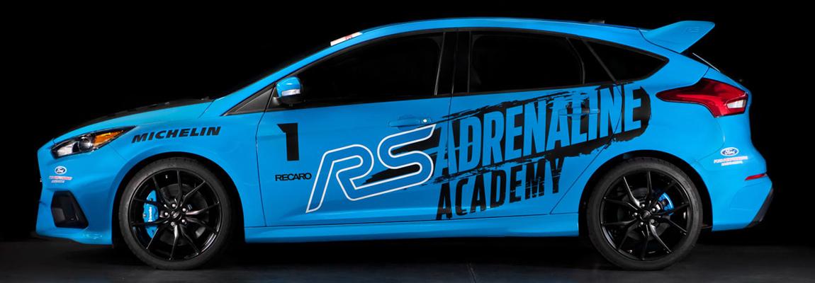 'RS Adrealine Academy' voor Ford Focus RS eigenaren