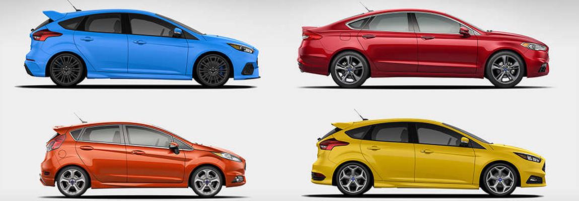 Sportieve Ford's winnen jongere, meer rijke kopers