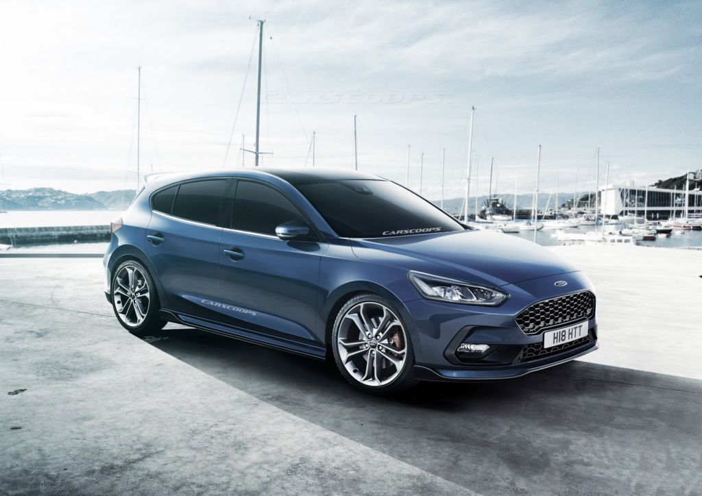 2019 ford focus st hatch by carscoops