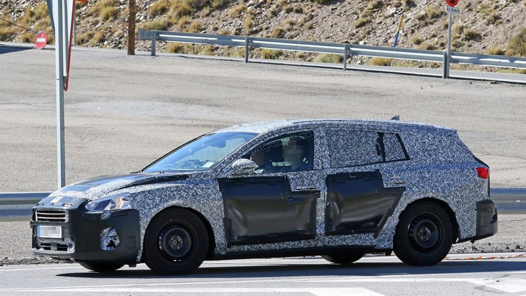 Nieuwe spy shots van de 2019 Ford Focus - www.focusmania.com