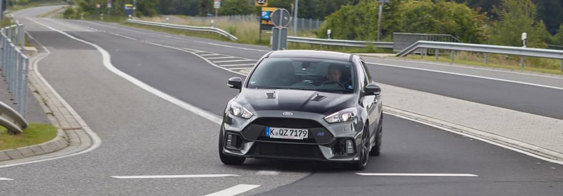 2018 Ford Focus RS500 testing on Nürburgring