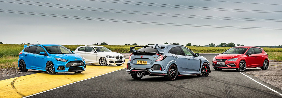 The Ford Focus RS gives you fun at any speed