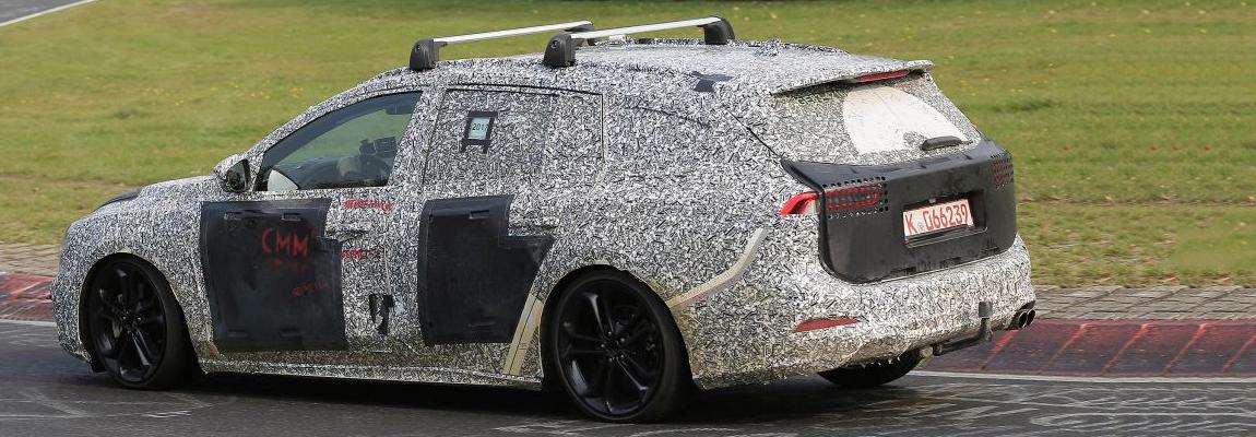 Nieuwe (2019) Ford Focus Wagon test op de Ring