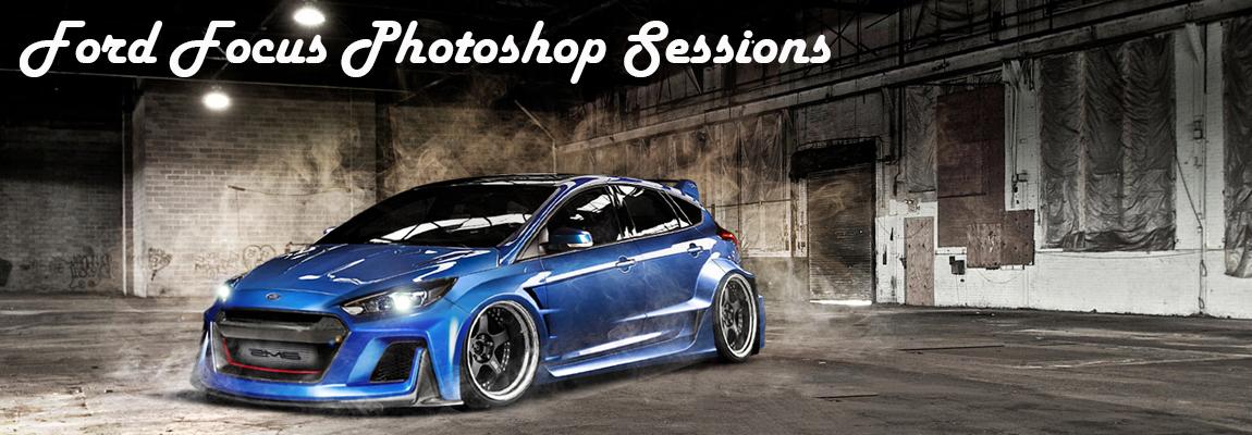 Creatief met Photoshop & de Ford Focus Range