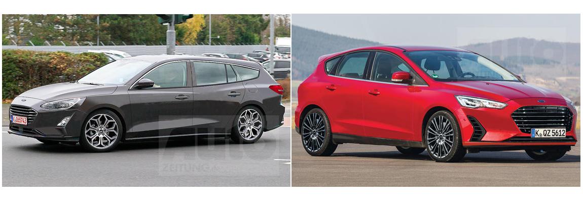 2019 Ford Focus Wagon en Hatchback duiken opnieuw op