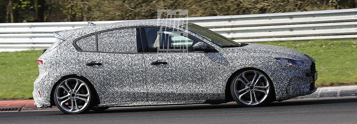 2019 Ford Focus ST gespot