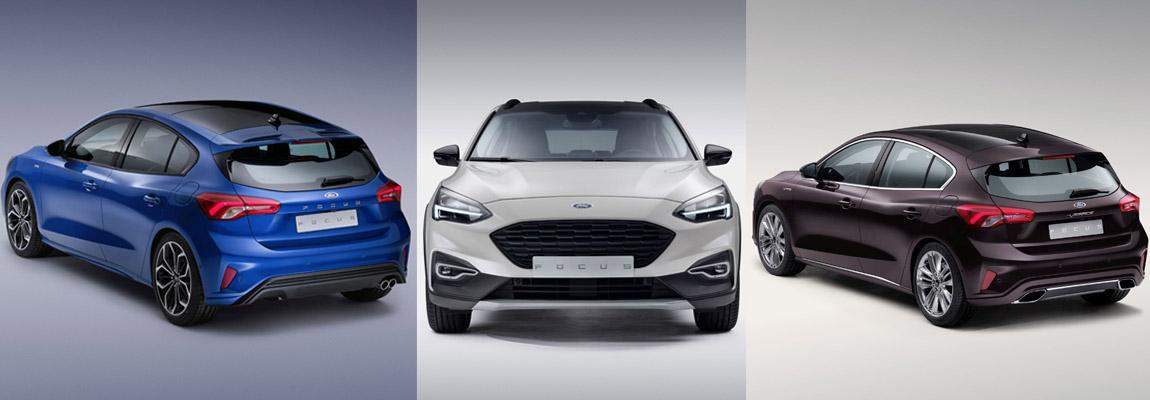 Nieuw: Wallpapers 2019 Ford Focus lijn